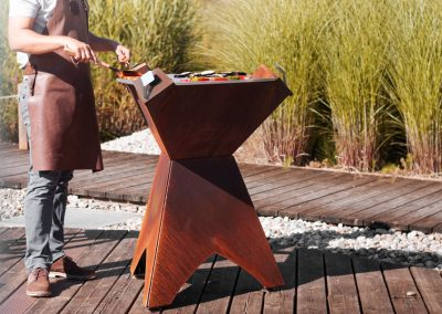 brasero - santones cheminées