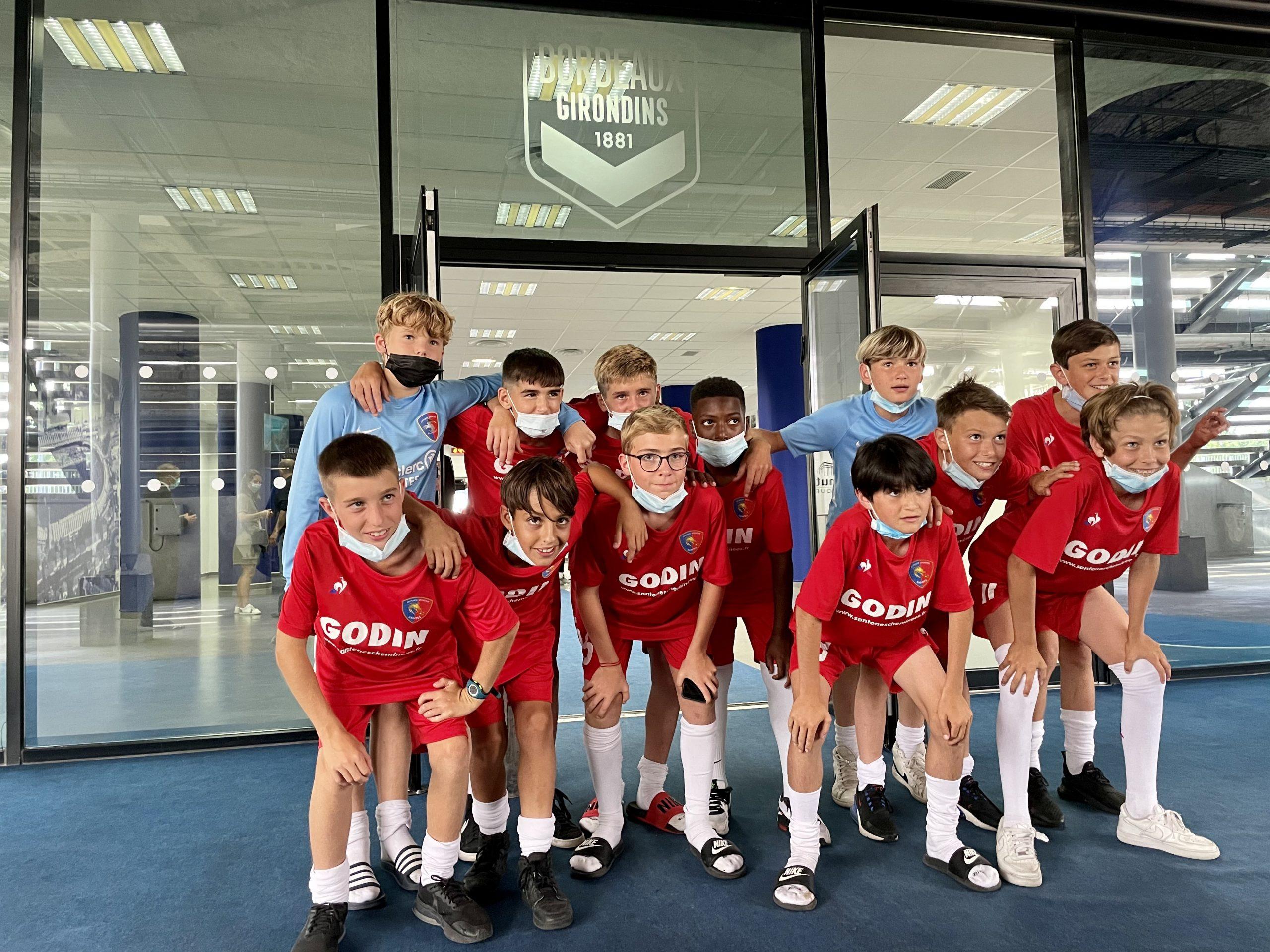 photo football - Santones Cheminées Sponsoring